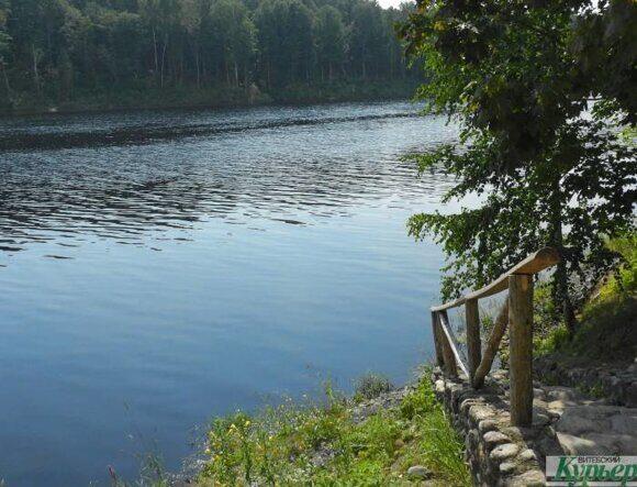 Западная Двина в Здравнево